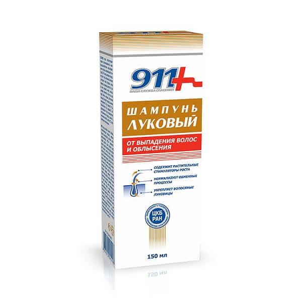 911 шампунь Луковый (п/выпад. волос150мл)
