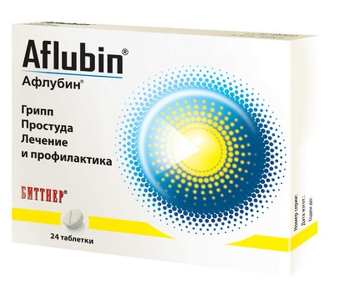 Афлубин таблетки №24