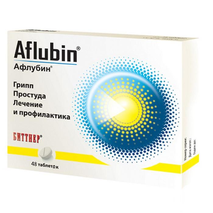 Афлубин таблетки №48