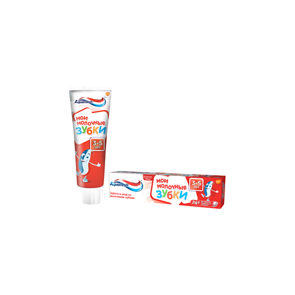 Аквафреш зубная паста (мои молочные зубки 50мл