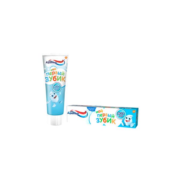Аквафреш зубная паста (мой первый зубик д/детей до 2лет 50мл) фото