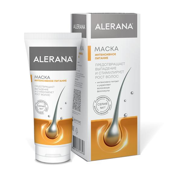 Алерана маска для волос интенсивное питание туба