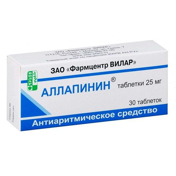 Аллапинин (таб. 25мг №30)