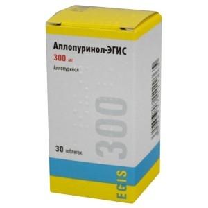 Аллопуринол (таб.300мг №30)