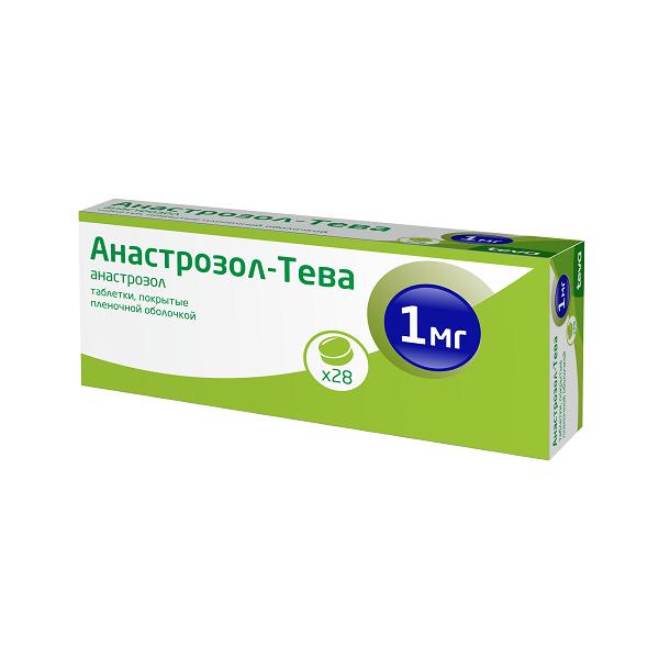 Анастрозол (таб.п.пл/об.1мг №28)