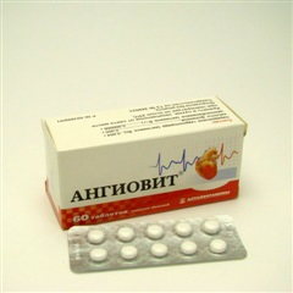 Ангиовит (таб.п/об. №60)