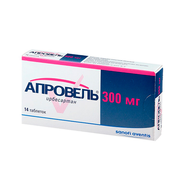 Апровель таблетки 300мг №14
