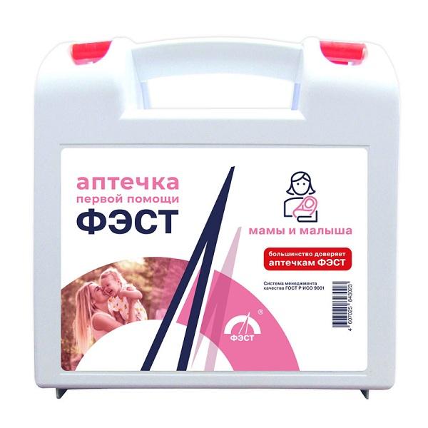 Аптечка матери и ребенка (футляр ( с медикаментами))