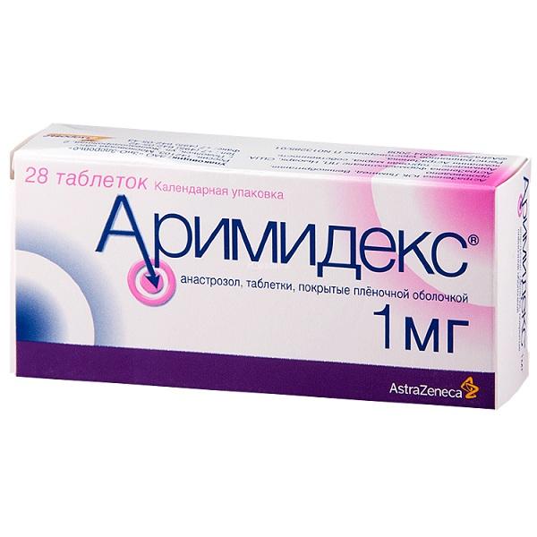 Аримидекс (таб.п.пл/об.1мг №28)