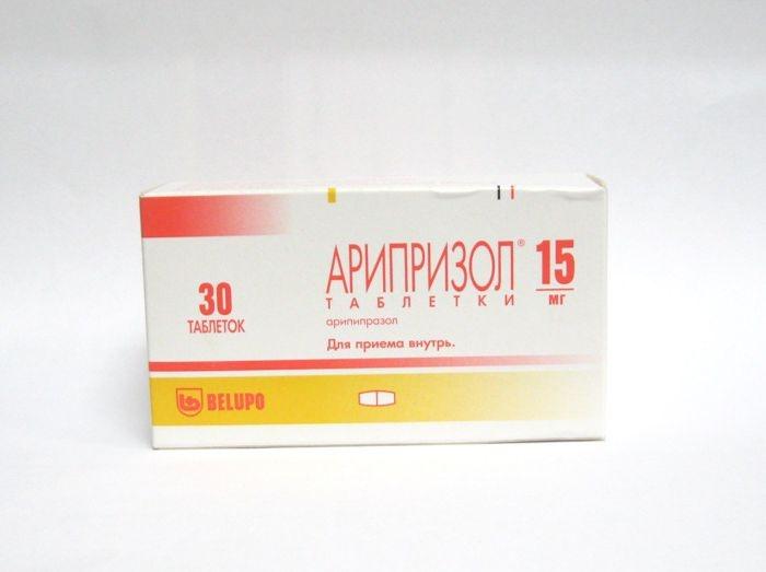 Арипризол (таб. 15мг №30)