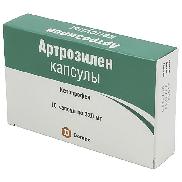 Артрозилен (капс. 320мг №10)