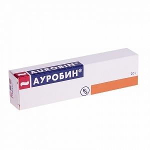 Ауробин мазь (туба 20г)