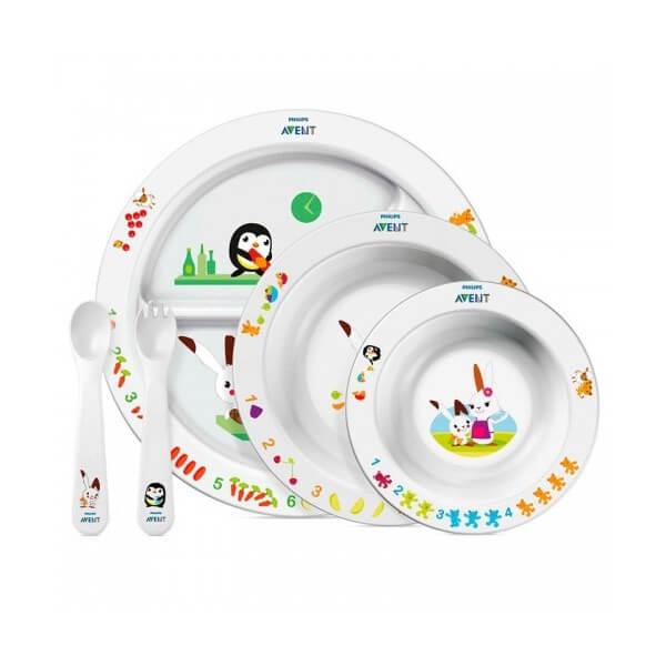 Авент набор (посуда д/малыша 6+)