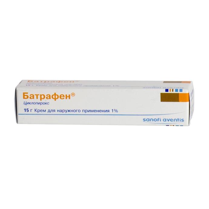 Батрафен крем (туба 1% 15г)
