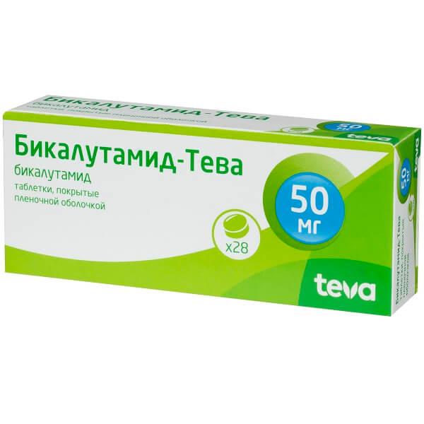 Бикалутамид-Тева (таб. п/о 50мг №28)