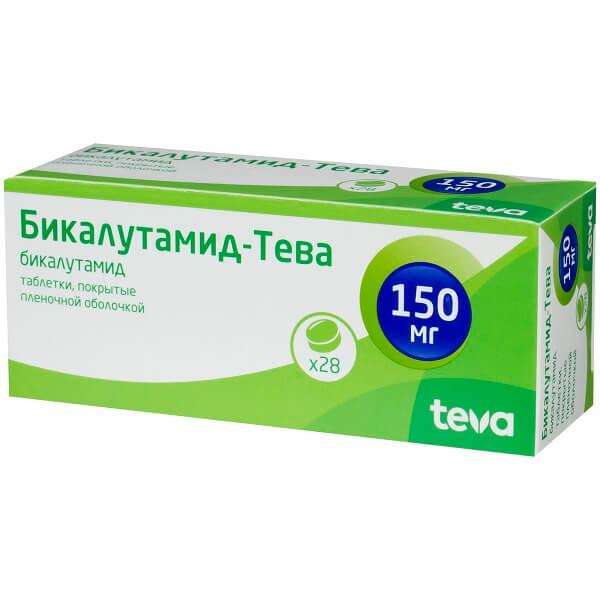 Бикалутамид-Тева таблетки 150мг №28