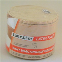 Бинт эластичный (3,5м х 8см)
