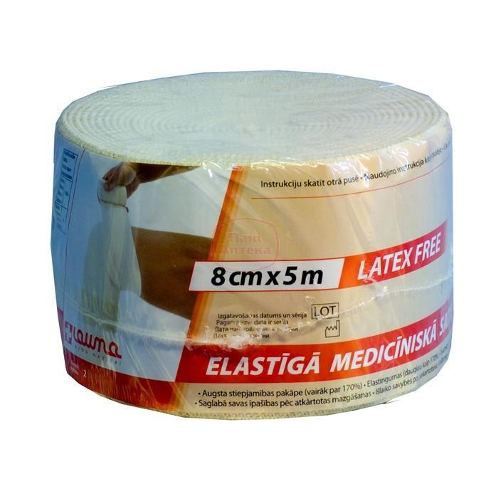 Бинт эластичный (5,0м х 8см)