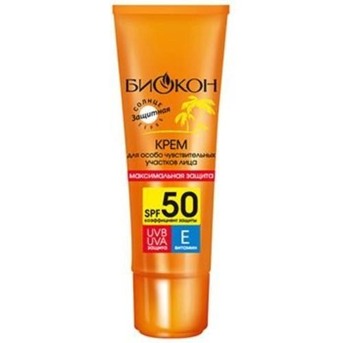 Биокон солнце крем (защ. д/чув. уч. лица spf50 25мл)
