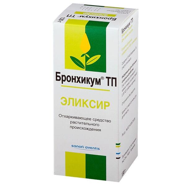 Бронхикум ТП (эликсир 130г)