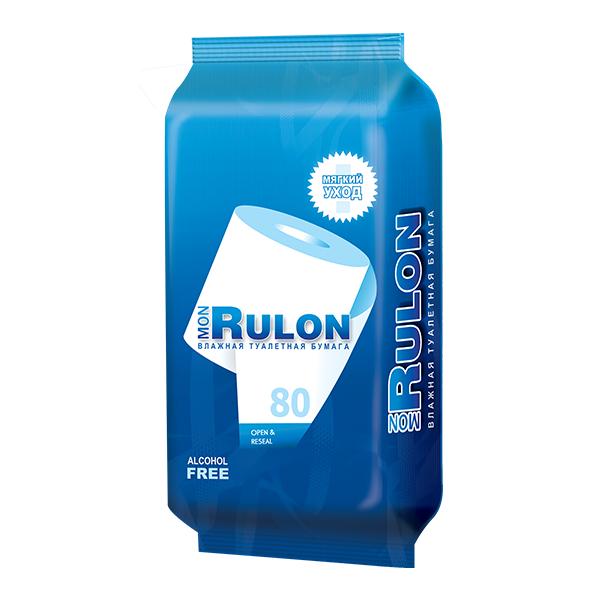 Бумага влажная туалетная MON RULON (№80)