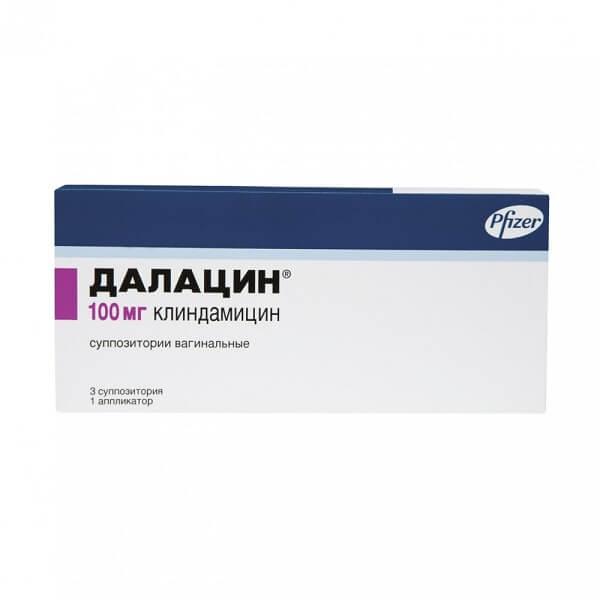 Далацин (супп. ваг. 100мг №3)