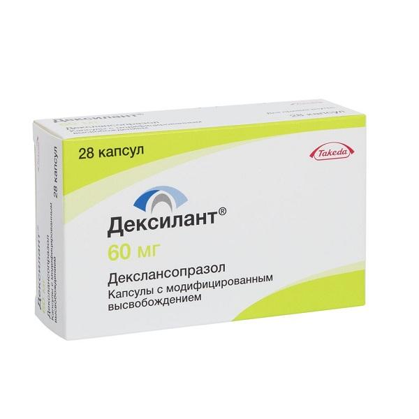 Дексилант (капс.с модиф.высв.60мг №28)