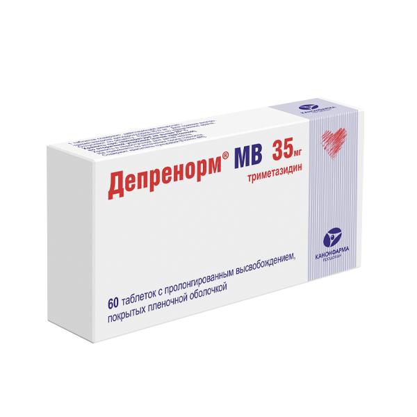 Депренорм МВ таблетки пролонгированного дейсвия 35мг №60
