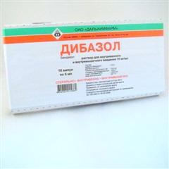 Дибазол (амп. 1% 5мл №10)