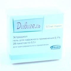 Дивигель (0,1% 0,5г гель пак. №28)
