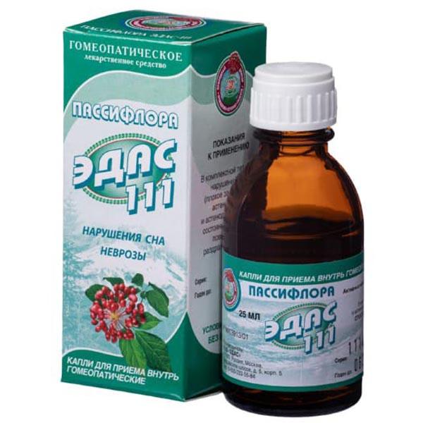 Эдас-111 (ПАССИФЛОРА) (фл. 25мл)