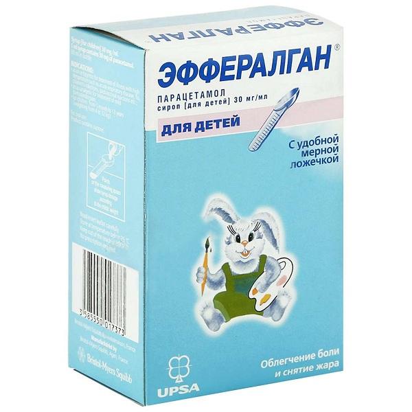 Эффералган сироп 3% детский 90 мл