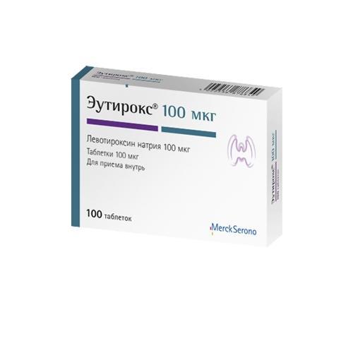 Эутирокс (таб. 100мкг №100)