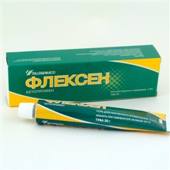 Флексен гель (туба 2,5% 30г)