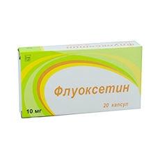 Флуоксетин (капс. 10мг №20)