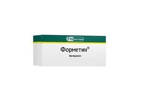 Форметин (таб. 1000мг №60)