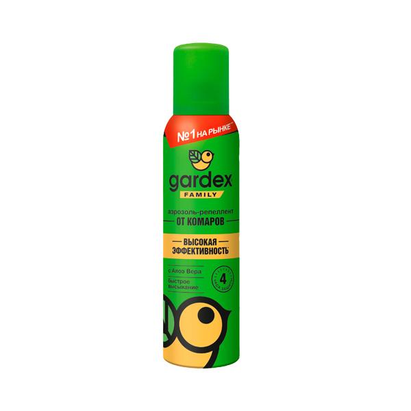 Гардекс Family аэрозоль-репеллент (от комаров 150мл)
