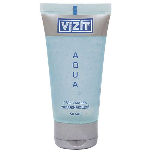 Гель-смазка Vizit aquagel 50мл увлажняющий