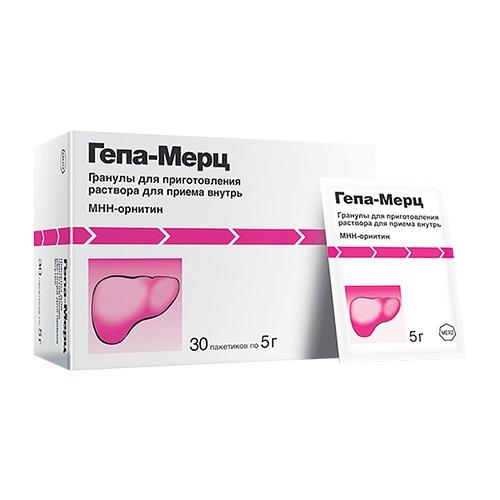 Гепа-Мерц пакетики №30