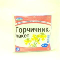 Горчичник-пакет (№10) фото