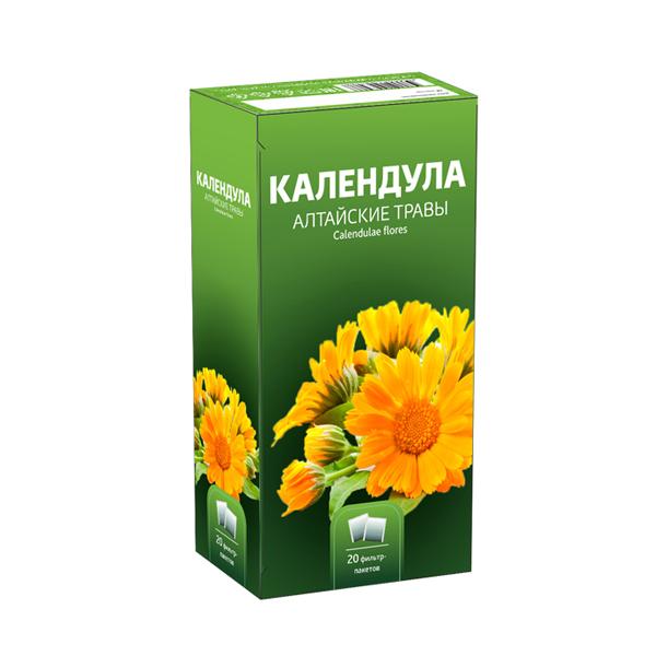 Календулы цветки фильтр-пакеты 1,5г №20