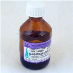 Камфорный спирт (фл. 10% 40мл)