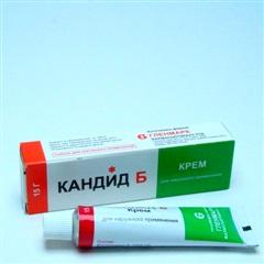 Кандид Б крем (туба 1% 15г)