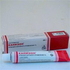 Канизон крем (туба 1% 20г)