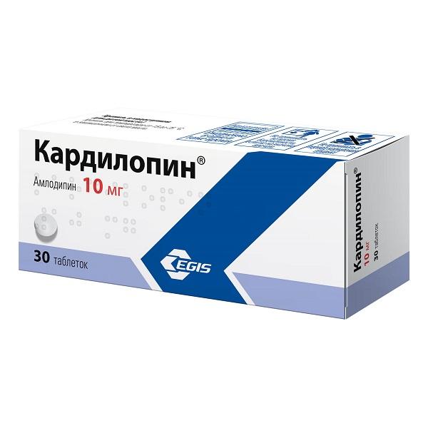 Кардилопин (таб. 10мг №30)