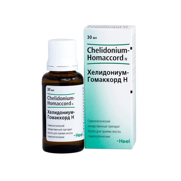 Хелидониум-Гомаккорд H капли 30мл