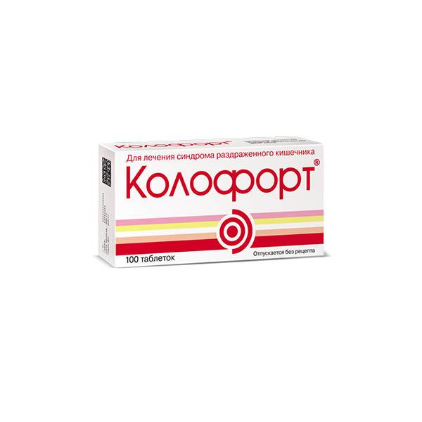 Колофорт таблетки для рассасывания 100мг №100