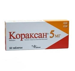 Кораксан таблетки 5мг №56