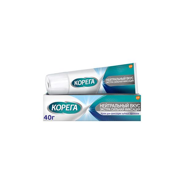 Корега крем (д/зуб. нейтральный вкус 40г)