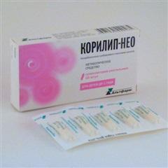 Корилип-НЕО суппозитории озитории ректальные №10
